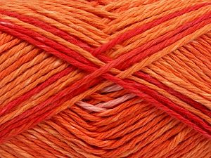 Colors in different lots may vary because of the charateristics of the yarn. Also see the package photos for the colorway in full; as skein photos may not show all colors. Fiber Content 100% Cotton, Red, Light Pink, Brand Ice Yarns, Gold, Yarn Thickness 3 Light  DK, Light, Worsted, fnt2-66253