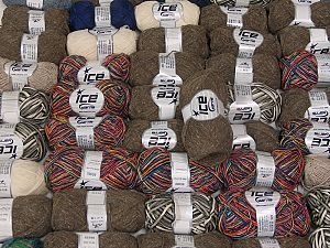 Winter Yarns In this list; you see most recent 50 mixed lots. <br> To see all <a href=&/mixed_lots/o/4#list&>CLICK HERE</a> (Old ones have much better deals)<hr> This mixed lot includes a total of 2000 gr (70.5 oz.) yarn. There is no standard for ball weight. Also disregard any information on the labels. You will get what you see in the photo. Brand Ice Yarns, fnt2-66389