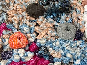 Leftover Yarns In this list; you see most recent 50 mixed lots. <br> To see all <a href=&/mixed_lots/o/4#list&>CLICK HERE</a> (Old ones have much better deals)<hr> This mixed lot includes unlabeled leftover yarns. There is no standard for fiber content and ball weight. The total weight is 2000 gr (70.5 oz.). You will get what you see in the photo. Brand Ice Yarns, fnt2-66453