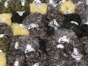 Techno Star In this list; you see most recent 50 mixed lots. <br> To see all <a href=&/mixed_lots/o/4#list&>CLICK HERE</a> (Old ones have much better deals)<hr> This mixed lot includes a total of 2000 gr (70.5 oz.) yarn. There is no standard for ball weight. Also disregard any information on the labels. You will get what you see in the photo. Fiber Content 100% Polyamide, Brand Ice Yarns, fnt2-66480