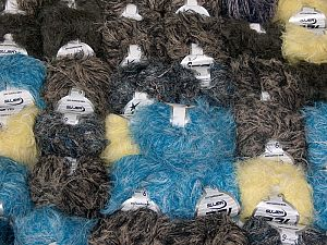 Techno Star In this list; you see most recent 50 mixed lots. <br> To see all <a href=&/mixed_lots/o/4#list&>CLICK HERE</a> (Old ones have much better deals)<hr> This mixed lot includes a total of 2000 gr (70.5 oz.) yarn. There is no standard for ball weight. Also disregard any information on the labels. You will get what you see in the photo. Fiber Content 100% Polyamide, Brand Ice Yarns, fnt2-66481