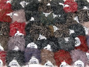 Techno Star In this list; you see most recent 50 mixed lots. <br> To see all <a href=&/mixed_lots/o/4#list&>CLICK HERE</a> (Old ones have much better deals)<hr> This mixed lot includes a total of 2000 gr (70.5 oz.) yarn. There is no standard for ball weight. Also disregard any information on the labels. You will get what you see in the photo. Fiber Content 100% Polyamide, Brand Ice Yarns, fnt2-66484