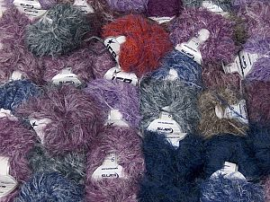 Techno Star In this list; you see most recent 50 mixed lots. <br> To see all <a href=&/mixed_lots/o/4#list&>CLICK HERE</a> (Old ones have much better deals)<hr> This mixed lot includes a total of 2000 gr (70.5 oz.) yarn. There is no standard for ball weight. Also disregard any information on the labels. You will get what you see in the photo. Fiber Content 100% Polyamide, Brand Ice Yarns, fnt2-66489