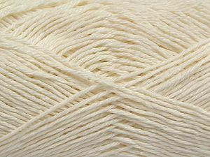 Fiber Content 100% Mercerised Cotton, Brand Ice Yarns, Ecru, Yarn Thickness 2 Fine  Sport, Baby, fnt2-66559