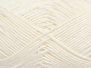 Fiber Content 50% Acrylic, 50% Bamboo, Optical White, Brand Ice Yarns, Yarn Thickness 2 Fine  Sport, Baby, fnt2-66607