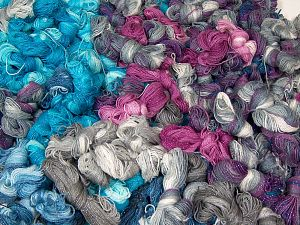 Magic Glitz Leftover This lot consists of about 100 hanks of Magic Glitz leftover yarn. The total weight is 2000 gr (70.5 oz.). In this list; you see most recent 50 mixed lots. <br>