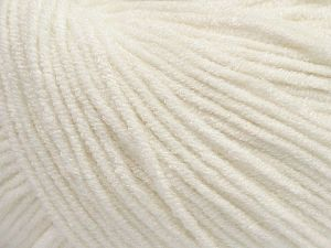 Modal is a type of yarn which is mixed with the silky type of fiber. It is derived from the beech trees. Fiber Content 55% Modal, 45% Acrylic, Off White, Brand Ice Yarns, fnt2-66686