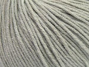 Modal is a type of yarn which is mixed with the silky type of fiber. It is derived from the beech trees. Fiber Content 55% Modal, 45% Acrylic, Light Grey, Brand Ice Yarns, fnt2-66687