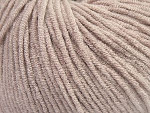 Modal is a type of yarn which is mixed with the silky type of fiber. It is derived from the beech trees. Fiber Content 55% Modal, 45% Acrylic, Brand Ice Yarns, Beige, fnt2-66689