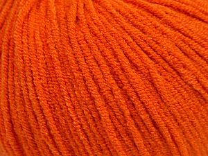 Modal is a type of yarn which is mixed with the silky type of fiber. It is derived from the beech trees. Fiber Content 55% Modal, 45% Acrylic, Orange, Brand Ice Yarns, fnt2-66691