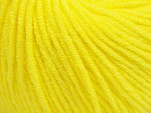 Modal is a type of yarn which is mixed with the silky type of fiber. It is derived from the beech trees. Fiber Content 55% Modal, 45% Acrylic, Neon Yellow, Brand Ice Yarns, fnt2-66693