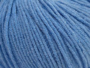 Modal is a type of yarn which is mixed with the silky type of fiber. It is derived from the beech trees. Fiber Content 55% Modal, 45% Acrylic, Light Blue, Brand Ice Yarns, fnt2-66698