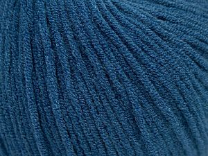 Modal is a type of yarn which is mixed with the silky type of fiber. It is derived from the beech trees. Fiber Content 55% Modal, 45% Acrylic, Brand Ice Yarns, Blue, fnt2-66699