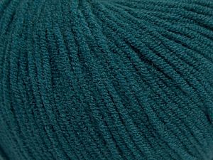 Modal is a type of yarn which is mixed with the silky type of fiber. It is derived from the beech trees. Fiber Content 55% Modal, 45% Acrylic, Teal, Brand Ice Yarns, fnt2-66701