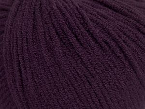 Modal is a type of yarn which is mixed with the silky type of fiber. It is derived from the beech trees. Fiber Content 55% Modal, 45% Acrylic, Maroon, Brand Ice Yarns, fnt2-66702