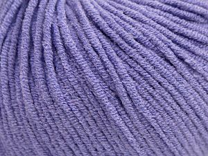 Modal is a type of yarn which is mixed with the silky type of fiber. It is derived from the beech trees. Fiber Content 55% Modal, 45% Acrylic, Lilac, Brand Ice Yarns, fnt2-66704