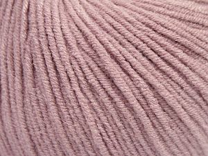 Modal is a type of yarn which is mixed with the silky type of fiber. It is derived from the beech trees. Fiber Content 55% Modal, 45% Acrylic, Powder Pink, Brand Ice Yarns, fnt2-66706