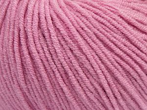 Modal is a type of yarn which is mixed with the silky type of fiber. It is derived from the beech trees. İçerik 55% Modal, 45% Akrilik, Brand Ice Yarns, Dark Pink, fnt2-66708