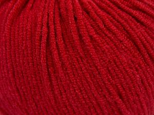 Modal is a type of yarn which is mixed with the silky type of fiber. It is derived from the beech trees. Fiber Content 55% Modal, 45% Acrylic, Red, Brand Ice Yarns, fnt2-66710
