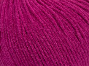 Modal is a type of yarn which is mixed with the silky type of fiber. It is derived from the beech trees. Fiber Content 55% Modal, 45% Acrylic, Brand Ice Yarns, Fuchsia, fnt2-66711