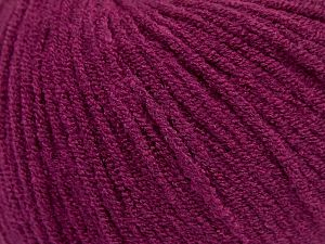 Modal is a type of yarn which is mixed with the silky type of fiber. It is derived from the beech trees. Fiber Content 55% Modal, 45% Acrylic, Brand Ice Yarns, Dark Fuchsia, fnt2-66712