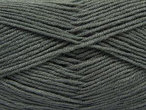 Vezelgehalte 50% Acryl, 50% Wol, Brand Ice Yarns, Grey, fnt2-66715