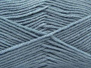 Vezelgehalte 50% Acryl, 50% Wol, Indigo Blue, Brand Ice Yarns, fnt2-66716