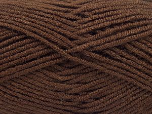 İçerik 100% Akrilik, Brand Ice Yarns, Dark Brown, fnt2-66723