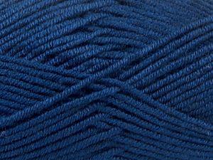 Fiber Content 100% Acrylic, Brand Ice Yarns, Dark Navy, fnt2-66725