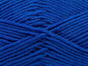 Fiber Content 100% Antipilling Acrylic, Brand Ice Yarns, Blue, Yarn Thickness 3 Light  DK, Light, Worsted, fnt2-66726