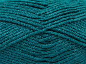 Fiber Content 100% Antipilling Acrylic, Brand Ice Yarns, Emerald Green, Yarn Thickness 3 Light  DK, Light, Worsted, fnt2-66729