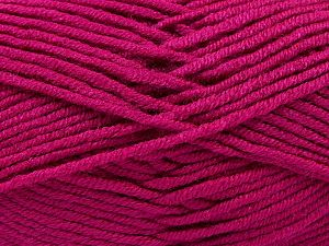 Fiber Content 100% Antipilling Acrylic, Brand Ice Yarns, Fuchsia, Yarn Thickness 3 Light  DK, Light, Worsted, fnt2-66730