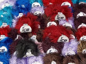 Eyelash Types This mixed lot includes a total of 2000 gr (70.5 oz.) yarn. There is no standard for ball weight. Also disregard any information on the labels. You will get what you see in the photo. In this list; you see most recent 50 mixed lots. <br>