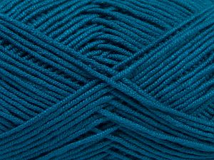 Fiber Content 50% Acrylic, 50% Bamboo, Turquoise, Brand Ice Yarns, fnt2-66776