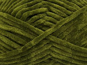 Fiber Content 100% Micro Fiber, Jungle Green, Brand Ice Yarns, Yarn Thickness 4 Medium  Worsted, Afghan, Aran, fnt2-66783