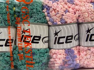 Fiber Content 50% Polyamide, 50% Acrylic, Mixed Lot, Brand Ice Yarns, fnt2-66784