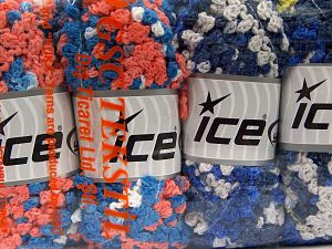 Fiber Content 50% Polyamide, 50% Acrylic, Mixed Lot, Brand Ice Yarns, fnt2-66787