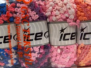 Fiber Content 50% Polyamide, 50% Acrylic, Mixed Lot, Brand Ice Yarns, fnt2-66788