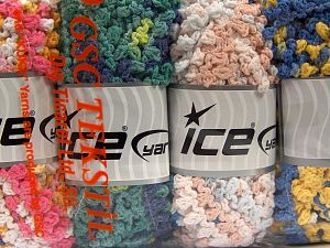 Fiber Content 50% Polyamide, 50% Acrylic, Mixed Lot, Brand Ice Yarns, fnt2-66789
