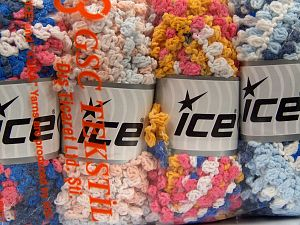 Fiber Content 50% Polyamide, 50% Acrylic, Mixed Lot, Brand Ice Yarns, fnt2-66790