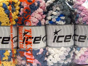 Fiber Content 50% Polyamide, 50% Acrylic, Mixed Lot, Brand Ice Yarns, fnt2-66791
