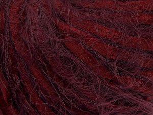 Fiber Content 60% Micro Fiber, 40% Polyamide, Maroon, Brand Ice Yarns, Burgundy, fnt2-66795