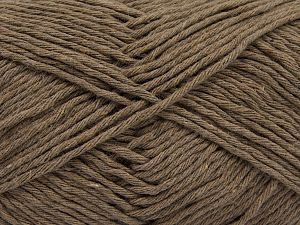 Fiber Content 100% Cotton, Light Camel, Brand Ice Yarns, Yarn Thickness 4 Medium  Worsted, Afghan, Aran, fnt2-66809