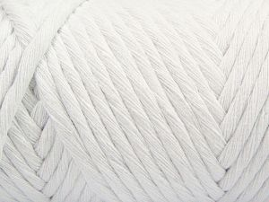 Fiber Content 100% Cotton, White, Brand Ice Yarns, Yarn Thickness 6 SuperBulky  Bulky, Roving, fnt2-66825