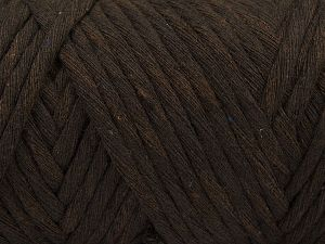 Fiber Content 100% Cotton, Brand Ice Yarns, Dark Brown, fnt2-66830