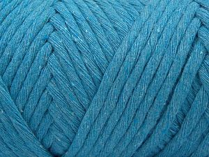 İçerik 100% Pamuk, Turquoise, Brand Ice Yarns, Yarn Thickness 6 SuperBulky  Bulky, Roving, fnt2-66835