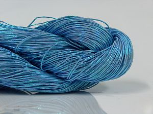 Please note that this is a hand-dyed yarn. Colors in different lots may vary because of the charateristics of the yarn. Also see the package photos for the colorway in full; as skein photos may not show all colors. Fiber Content 60% Metallic Lurex, 40% Cotton, Lilac, Brand Ice Yarns, fnt2-66837