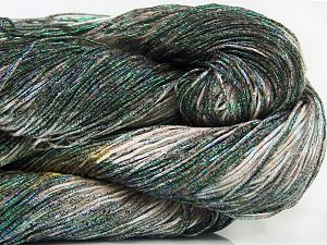 Please note that this is a spray-painted yarn. Colors in different lots may vary because of the charateristics of the yarn. Also see the package photos for the colorway in full; as skein photos may not show all colors. Περιεχόμενο ίνας 60% Μεταλλικό lurex, 40% Βαμβάκι, Pink, Brand Ice Yarns, Green, Black, Yarn Thickness 2 Fine  Sport, Baby, fnt2-66846