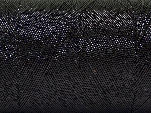 İçerik 70% Metalik Simli, 30% Pamuk, Brand Ice Yarns, Black, fnt2-66863