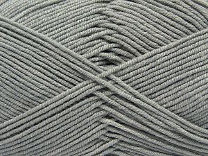 Fiber Content 50% Acrylic, 50% Cotton, Light Grey, Brand Ice Yarns, Yarn Thickness 2 Fine  Sport, Baby, fnt2-66894